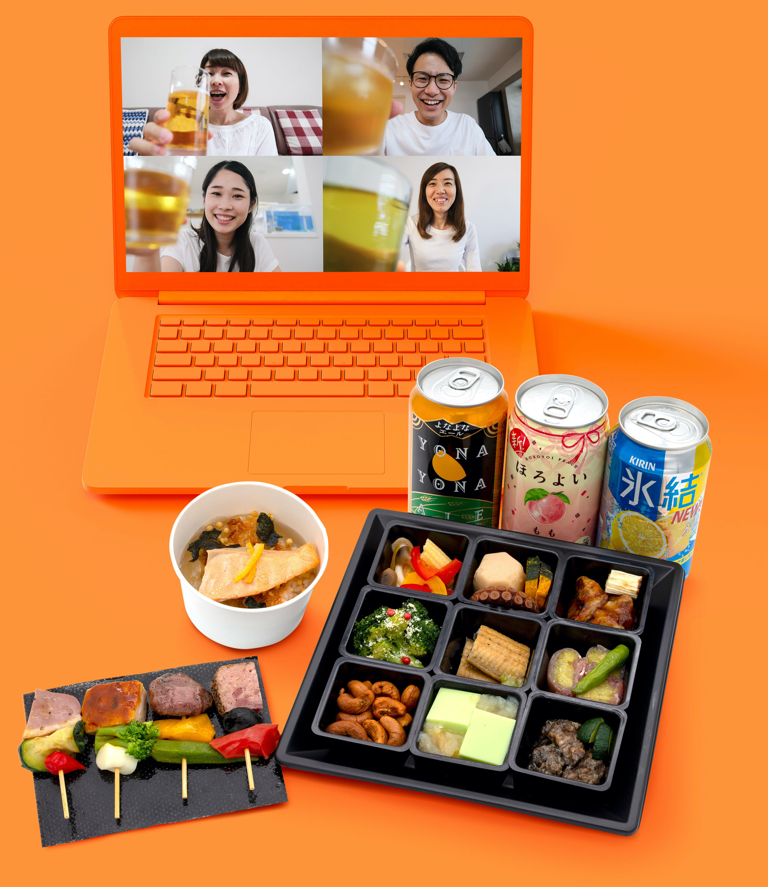 nonpi foodboxオンライン飲み会