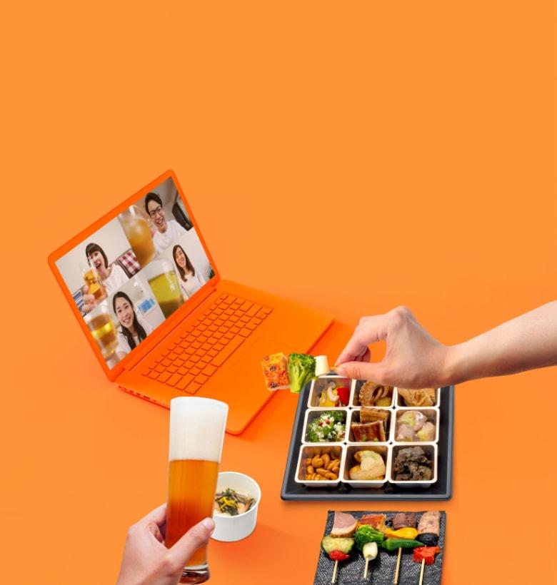 コミュニケーションフードデリバリーnonpi foodbox™